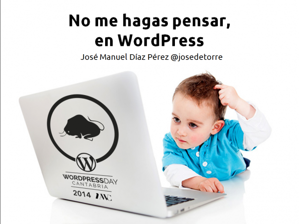 No me hagas pensar, en WordPress