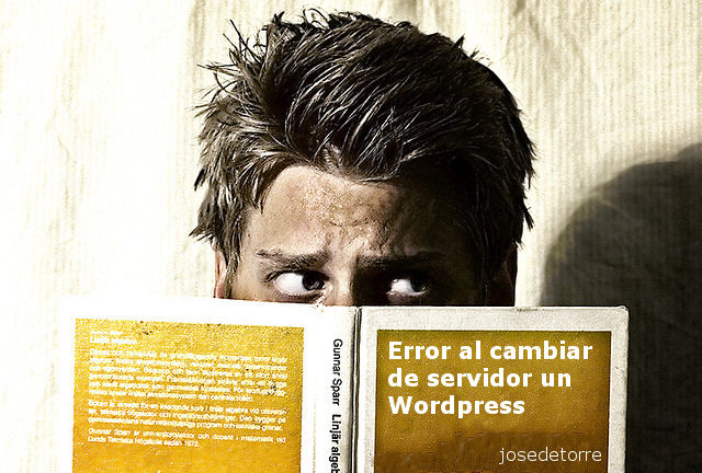 Cambio de servidor PHP y «syntax error, unexpected end of file» en WordPress