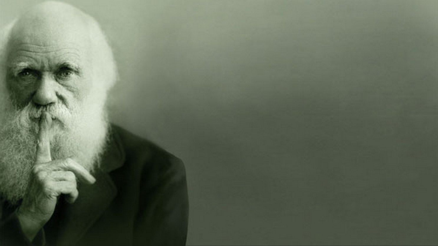 Charles Darwin pide silencio
