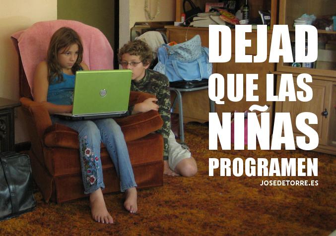 Dejad que las niñas programen