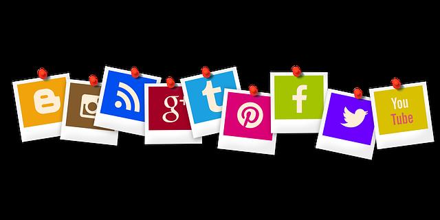 Distintas redes sociales